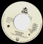 "BAD GIRL - UK JUKEBOX 7"" VINYL (1)"